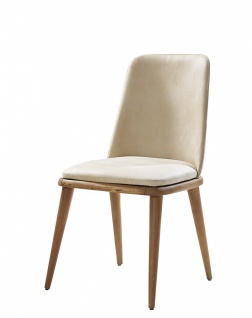 Esszimmer Stuhl Panama mit Massivholz Beinen