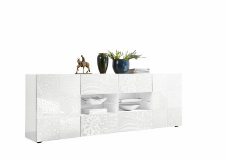 Sideboard mit offenem Fach Orim Weiß - Vorschau 2