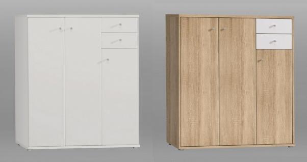Sideboard modern Tanja 3-türig in 2 Farben