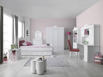 Kinderzimmer Set in Weiß Classic Young 100x200 - Vorschau 1