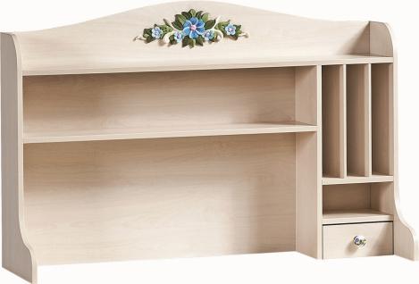 Cilek Flora Schreibtischaufsatz L mit 3 Fächern