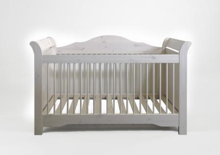 Babybett Amelie white wash Kiefer massiv - Vorschau 2