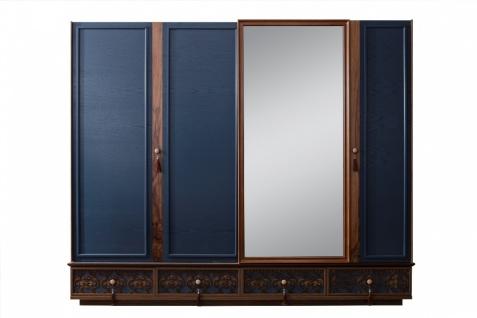 Schlafzimmer Set komplett Varun 4-teilig Blau - Vorschau 3
