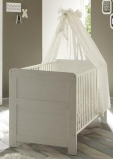 Babybett Caty 70x140 Weiß