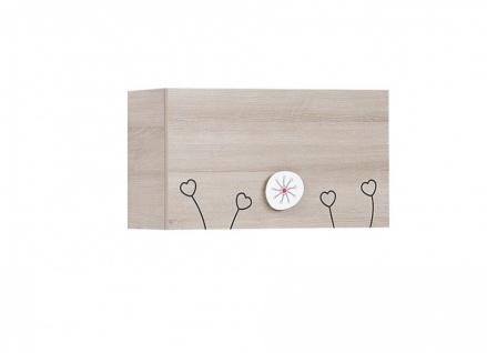 Wandboard Kinder in warmer Holz Optik Sweety
