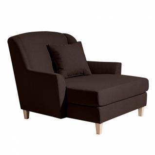 Sofa 2-Sitzer Judith Leinenoptik, verschiedene Farben