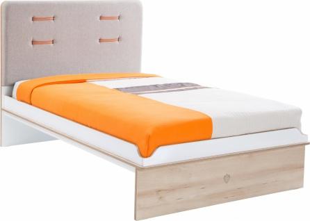 Cilek Dynamic Kinderbett mit grauem Kopfteil 120x200