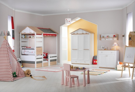 Almila Babyzimmer komplett 6-teilig Loft Baby