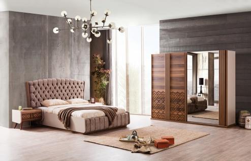 Schlafzimmerset komplett Set 5-teilig Vega