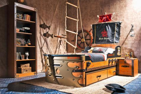 Cilek Black Pirate Schiffsbett-Set 3-teilig