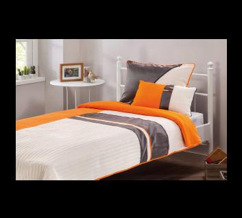 Cilek Dynamic Bettwäsche in Orange und Grau 90-100