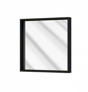 Wandspiegel mit Rahmen Novali in Schwarz