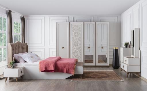 Schlafzimmer Set Boston mit Stauraumbett 160x200