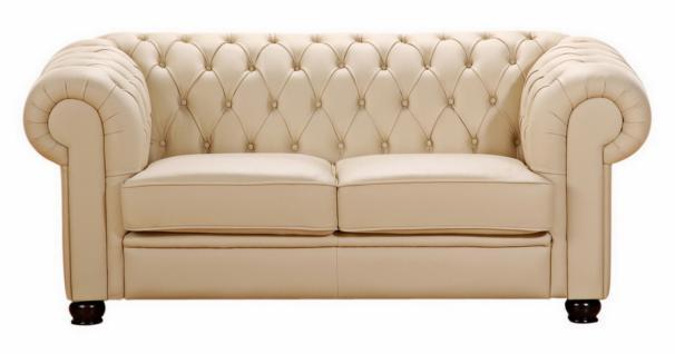 Sofa 2-Sitzer Chandler Kunstleder, verschiedene Farben