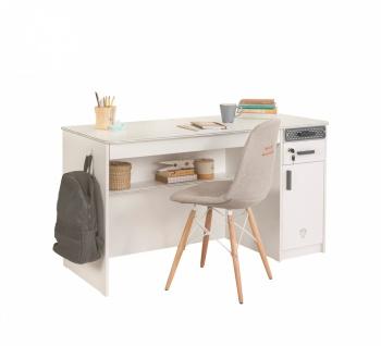 Cilek White Schreibtisch 1-türig 110x75x62