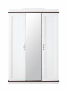 Kleiderschrank Morpheus 3-türig in Weiß