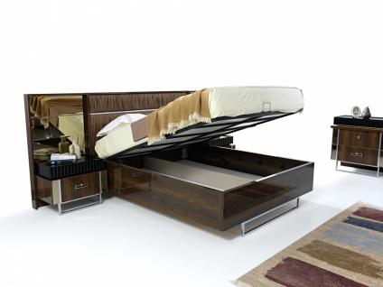 Schlafzimmer Doppelbett Ruiz mit Stauraum 160x200