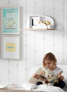 Kid Wandregal Mint-Grün 45x25x22