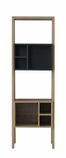 Modernes Bücherregal Harmony Young zweifarbig