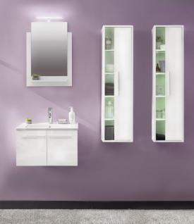 Badezimmer Set Jena 4-teilig in Weiß