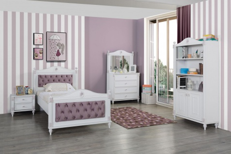 Titi Kinderzimmer Goldi romantisches Design 100x200
