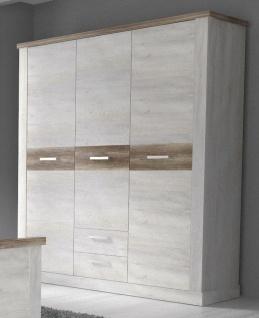 Schlafzimmer komplett Pinia Weiß Hedda 3-teilig - Vorschau 3