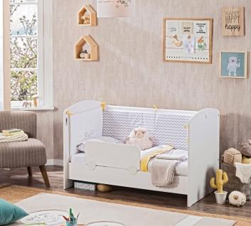 Cilek Cradle Babybett Wiege 60x120 mit Matratze - Vorschau 2
