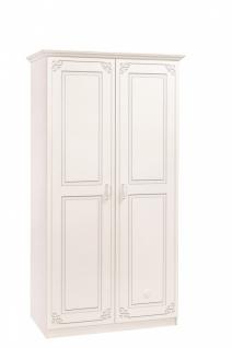Cilek Selena Baby Kleiderschrank Weiß 2-türig - Kaufen bei Möbel-Lux