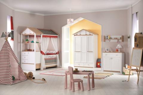 Almila Komplettes Babyzimmer Set Loft Baby