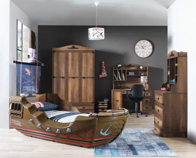 Kinderzimmer komplett Black Pearl 4-teilig