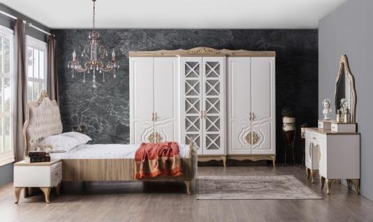 Weltew Barock Schlafzimmer Balat 6-teilig 160x200 cm