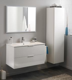 Parisot Luxy Badmöbel Weiß Hochglanz Set 3-teilig