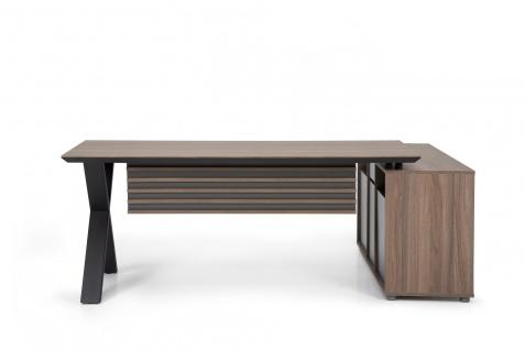 Ovali Design Schreibtischkombination Vix 180x80 cm