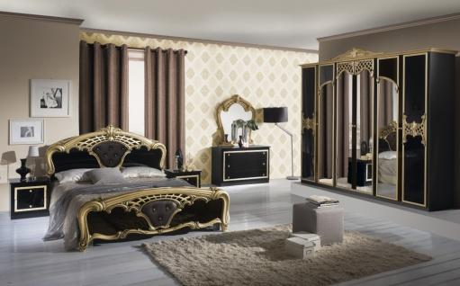 Italien Barock Schlafzimmer Schwarz Gold Edeline 4-teilig - Kaufen ...
