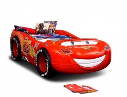 Autobett McQueen Disney Cars mit Matratze