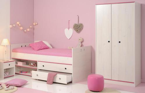 Kinderzimmer komplett Allie 3-teilig mit Schrank