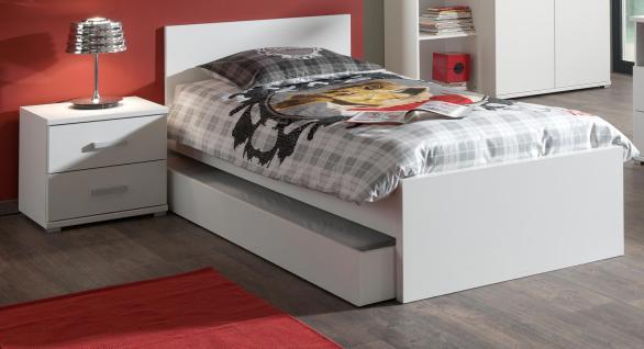 Kinderbett- Set Pinja 2-teilig in Weiß