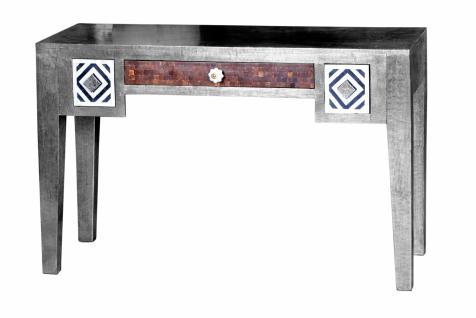 Schreibtisch Metall Meton 120x48 mit 3 Schubladen