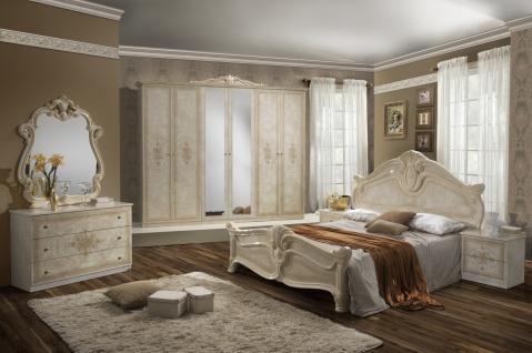 Schlafzimmer Set Malfi mit 4-türigem Schrank