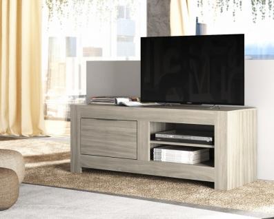 Modernes TV Lowboard in Raucheiche Casu