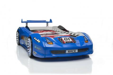 Autobett Turbo GT 01 Blau mit LED Vollfunktion