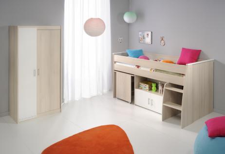 Kinderzimmer Set Tesso in Akazie und Weiß
