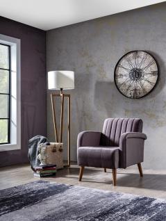 Couch Garnitur Maya 2-teilig Retrostyle Orange - Vorschau 3
