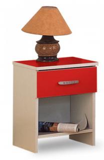 Nachttisch Rot nachttisch rot günstig sicher kaufen bei yatego