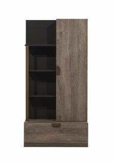 Bücherregal Beest mit Tür & Schubfach in Eiche Optik