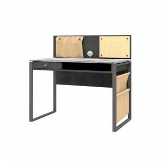 Schreibtisch Novali mit USB und Pinnwand