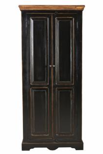Kleiderschrank Corisa mit 2 Türen aus Mangoholz