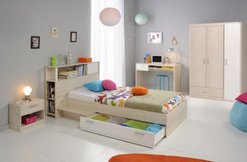 Kinderzimmer komplett Tesso 5-teilig in Akazie