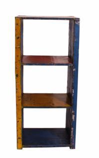 Bücherregal Panum mit 2 Böden aus recycelten Ölfässern