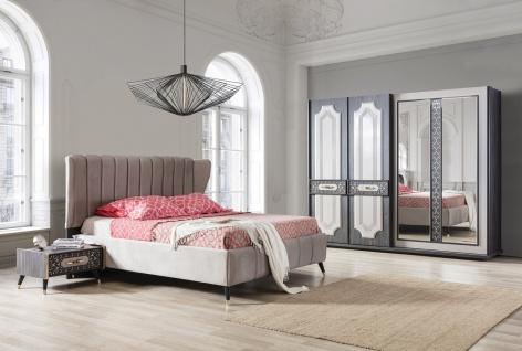 Schlafzimmer Set Pedro 4-teilig in Grau